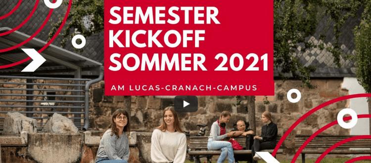 Digitale Eröffnung Lucas-Cranach-Campus